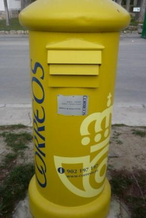 Horario recogida correos