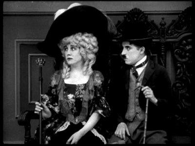 Fotograma de The Idle Rich, de Charles Chaplin, 1921