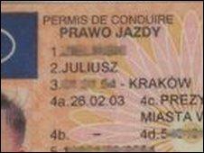 Foto carnet polaco