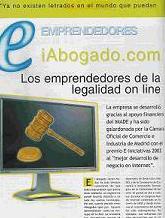Reportaje en revista Guía Internet - marzo 2005