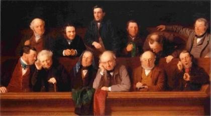 El jurado, de John Morgan. 1861