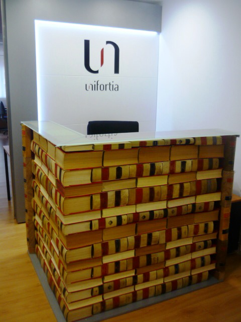 Recepción de Unifortia, espacio para abogados